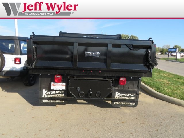 2018 Silverado 3500 Regular Cab DRW 4x4,  Knapheide Dump Body #S90937 - photo 8