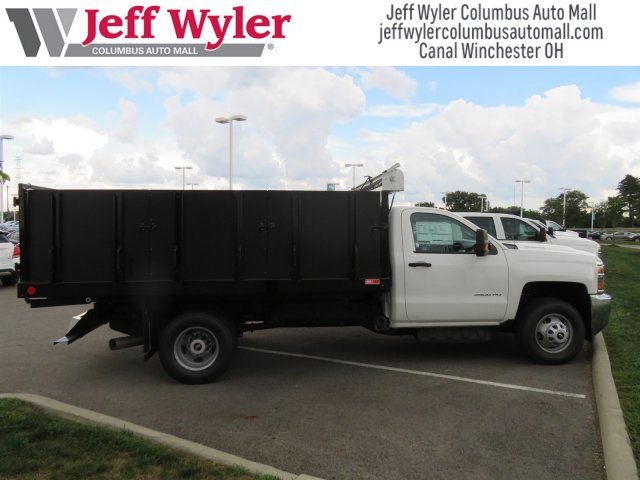 2018 Silverado 3500 Regular Cab DRW 4x4,  Monroe Landscape Dump #S90955 - photo 5