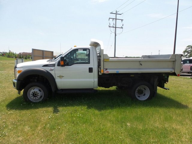 2016 F-550 Regular Cab DRW 4x4, Monroe Dump Body #6FT070 - photo 3
