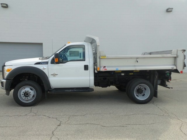 2016 F-550 Regular Cab DRW 4x4, Monroe Dump Body #6FT086 - photo 3