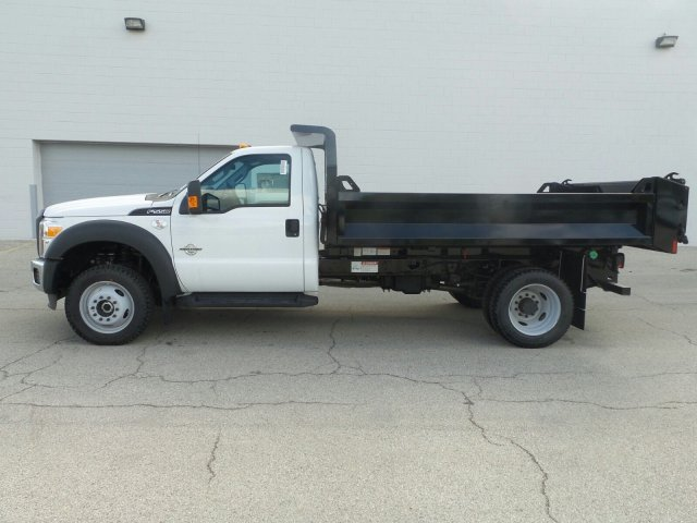 2016 F-550 Regular Cab DRW 4x4, Knapheide Dump Body #6FT091 - photo 3