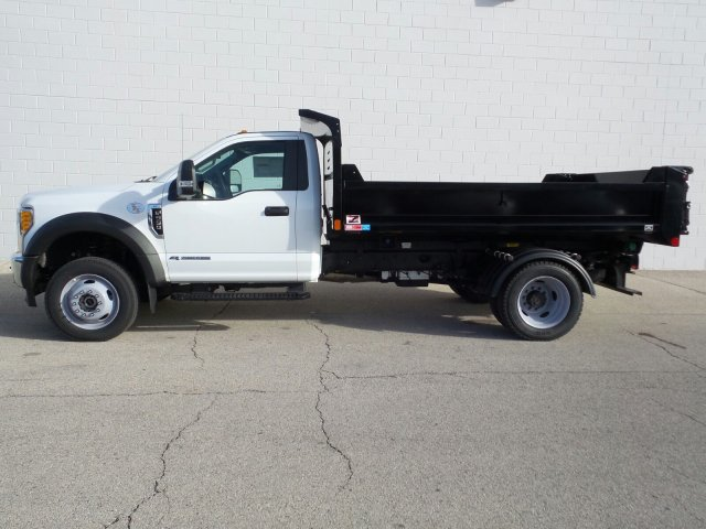 2017 F-550 Regular Cab DRW 4x4, Monroe Dump Body #7FT099 - photo 3