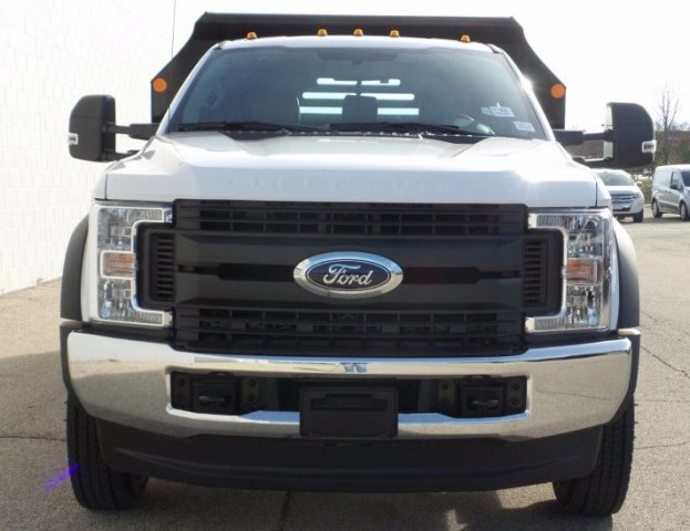 2017 F-550 Regular Cab DRW 4x4, Monroe Dump Body #7FT099 - photo 4