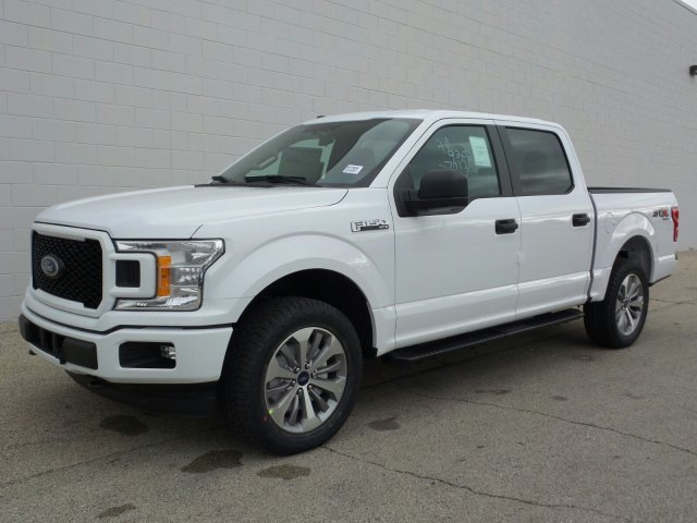 2018 F-150 Crew Cab 4x4 Pickup #8FP056 - photo 1