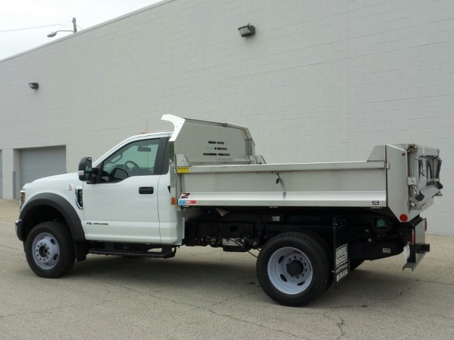 2018 F-550 Regular Cab DRW 4x4,  Dump Body #8FT050 - photo 3