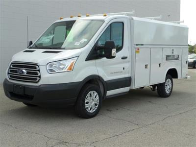 2018 Transit 250 4x2,  Reading Aluminum CSV Service Utility Van #8TR069 - photo 1