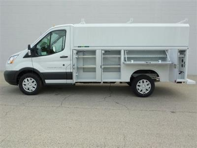 2018 Transit 250 4x2,  Reading Aluminum CSV Service Utility Van #8TR069 - photo 4