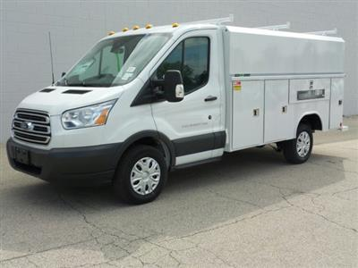 2018 Transit 250 4x2,  Reading Aluminum CSV Service Utility Van #8TR070 - photo 3