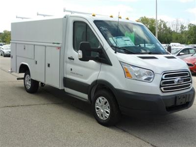 2018 Transit 250 4x2,  Reading Aluminum CSV Service Utility Van #8TR070 - photo 1