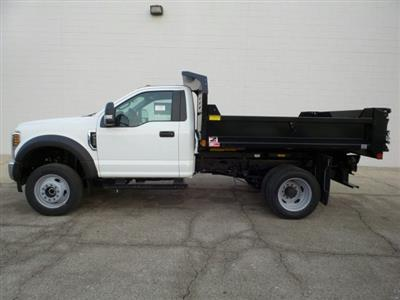 2019 F-550 Regular Cab DRW 4x4,  Monroe MTE-Zee Dump Body #9FT029 - photo 3