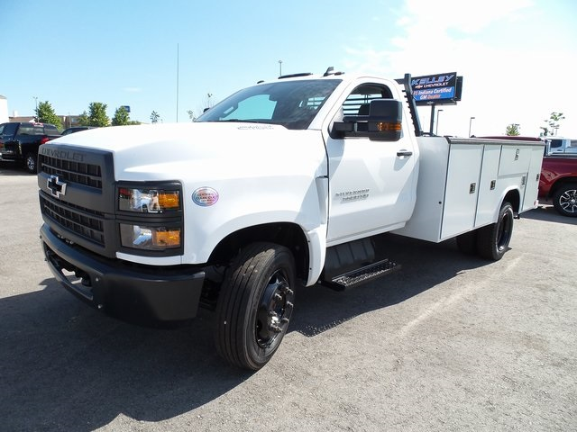 2019 Silverado Medium Duty DRW 4x2,  Reading Classic II Steel Service Body #3T4812 - photo 4