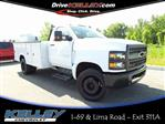 2019 Silverado Medium Duty Regular Cab DRW 4x2,  Reading Service Body #3T4812 - photo 1
