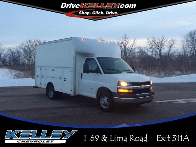 2020 Chevrolet Express 3500 4x2, Supreme Service Utility Van #CC1022 - photo 1