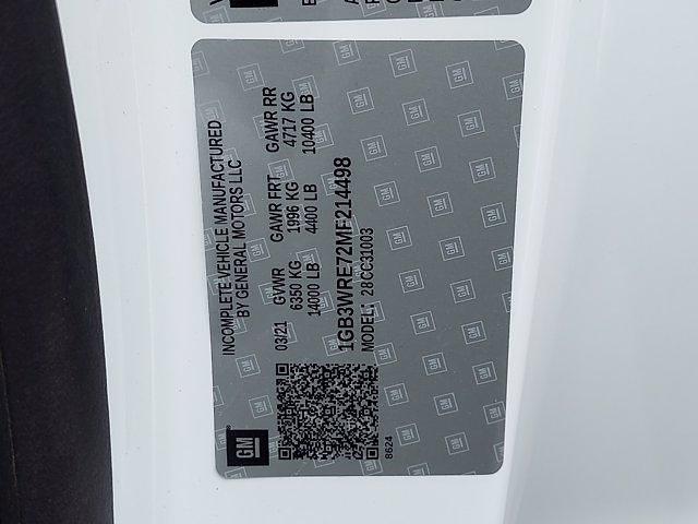 2021 Silverado 3500 Regular Cab 4x2,  Crysteel Dump Body #214498 - photo 23