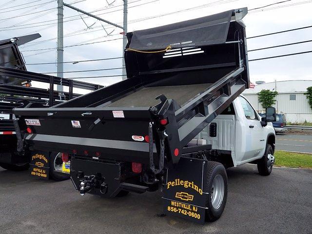 2021 Silverado 3500 Regular Cab 4x2,  Crysteel Dump Body #214498 - photo 2