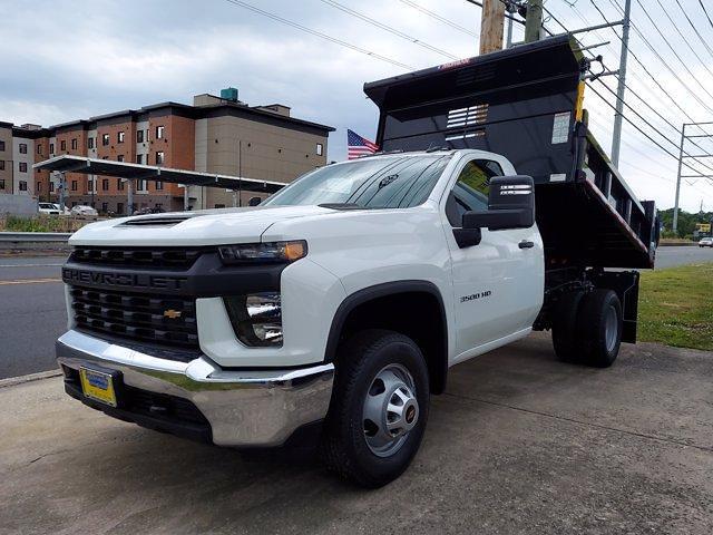2021 Silverado 3500 Regular Cab 4x4,  Morgan Truck Body Dump Body #219586 - photo 4