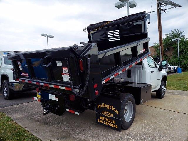 2021 Silverado 3500 Regular Cab 4x4,  Morgan Truck Body Dump Body #219586 - photo 2