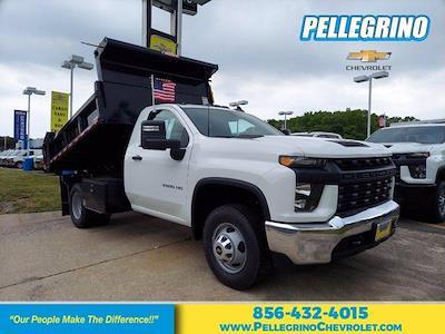 2021 Silverado 3500 Regular Cab 4x4,  Morgan Truck Body Dump Body #219586 - photo 1