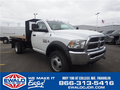 2016 Ram 4500 Regular Cab DRW, Monroe Platform Body #DG264 - photo 1