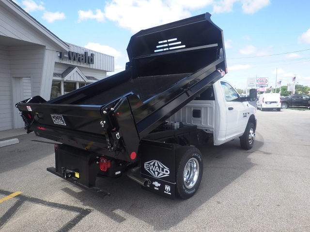 2017 Ram 3500 Regular Cab DRW 4x4, Dump Body #DH336 - photo 2