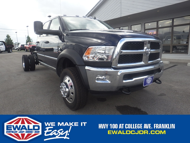 2017 Ram 4500 Crew Cab DRW 4x4 Cab Chassis #DH371 - photo 1