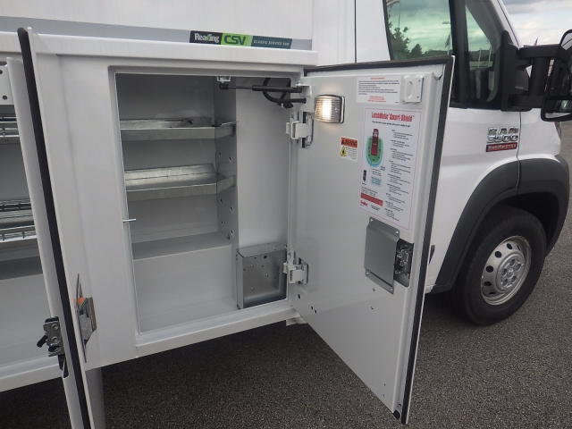 2017 ProMaster 3500, Reading Aluminum CSV Service Utility Van #DH394 - photo 39