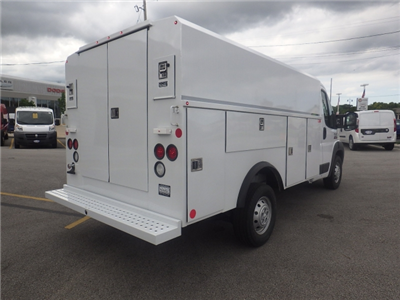 2017 ProMaster 3500, Reading Aluminum CSV Service Utility Van #DH394 - photo 2