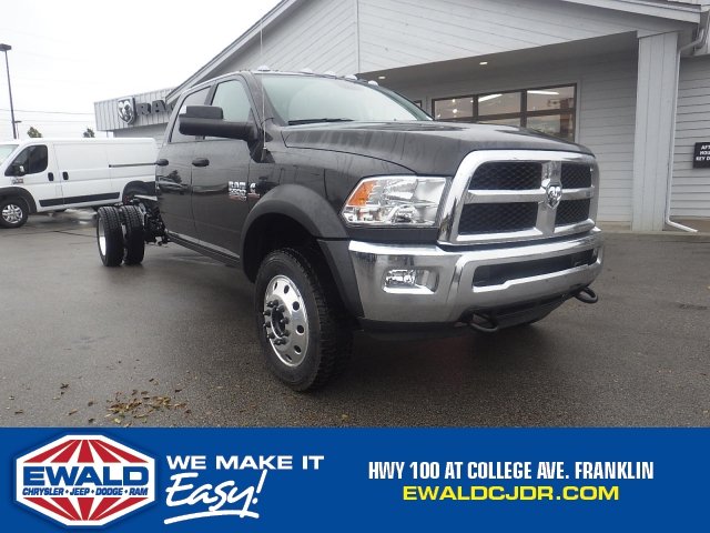 2017 Ram 5500 Crew Cab DRW 4x4 Cab Chassis #DH404 - photo 1