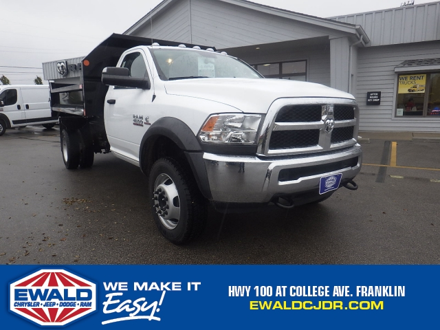 2017 Ram 4500 Regular Cab DRW 4x4 Dump Body #DJ155 - photo 1