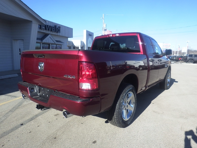 2018 Ram 1500 Quad Cab 4x4, Pickup #DJ168 - photo 2
