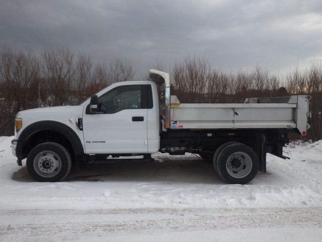 2017 F-550 Regular Cab DRW 4x4, Monroe Dump Body #A10037 - photo 4
