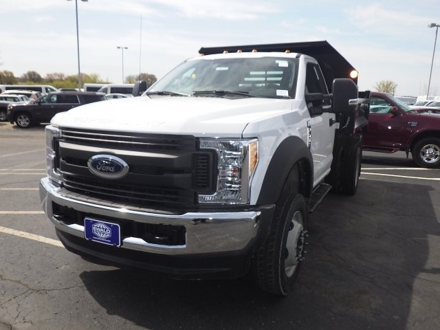 2017 F-450 Regular Cab DRW 4x4, Monroe Dump Body #A10373 - photo 2