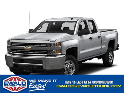 2017 Silverado 2500 Double Cab 4x4 Pickup #17C1040 - photo 1