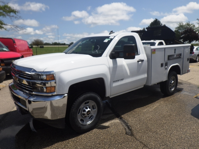 2017 Silverado 2500 Regular Cab 4x4, Reading Classic II Steel Service Body #17C1271 - photo 12