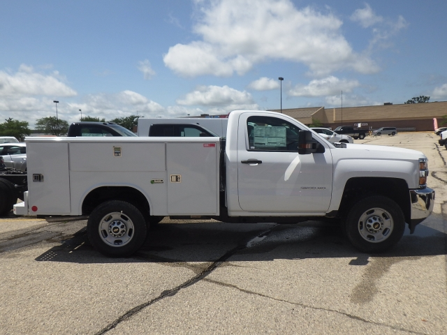 2017 Silverado 2500 Regular Cab 4x4, Reading Classic II Steel Service Body #17C1271 - photo 3