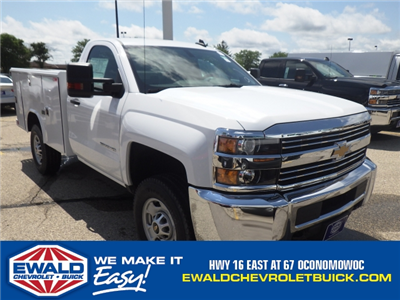 2017 Silverado 2500 Regular Cab 4x4, Reading Classic II Steel Service Body #17C1271 - photo 1