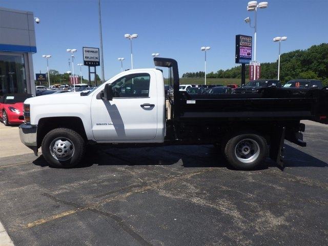 2017 Silverado 3500 Regular Cab 4x4, Knapheide Drop Side Dump Bodies Dump Body #17C926 - photo 13
