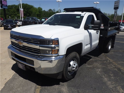 2017 Silverado 3500 Regular Cab 4x4, Knapheide Drop Side Dump Bodies Dump Body #17C926 - photo 14