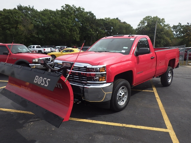 2018 Silverado 2500 Regular Cab 4x4, Pickup #18C120 - photo 12