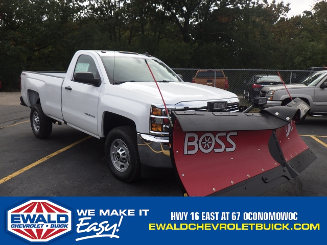 2018 Silverado 2500 Regular Cab 4x4 Pickup #18C121 - photo 1