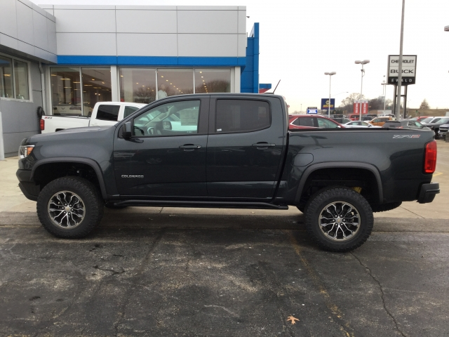 2018 Colorado Crew Cab 4x4 Pickup #18C289 - photo 9