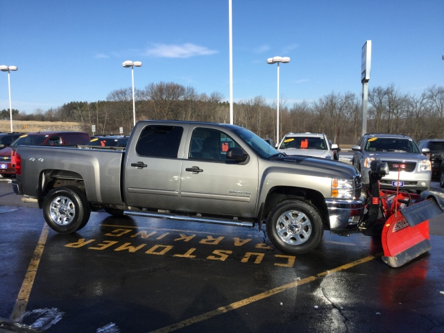 2014 Silverado 2500 Crew Cab 4x4, Pickup #18C346A - photo 3