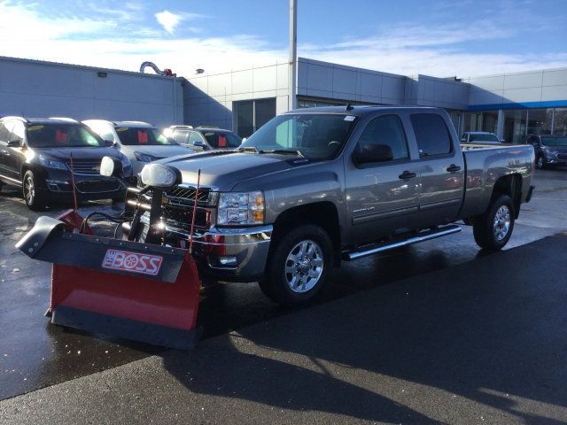 2014 Silverado 2500 Crew Cab 4x4, Pickup #18C346A - photo 4