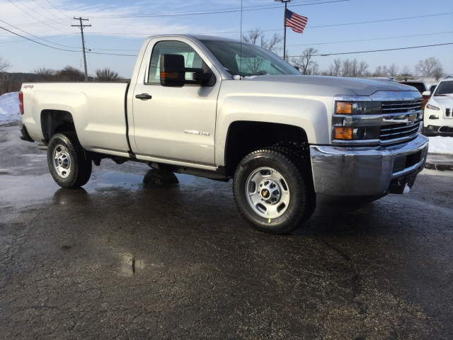 2018 Silverado 2500 Regular Cab 4x4, Pickup #18C535 - photo 3