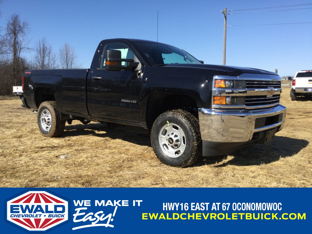 2018 Silverado 2500 Regular Cab 4x4, Pickup #18C537 - photo 1