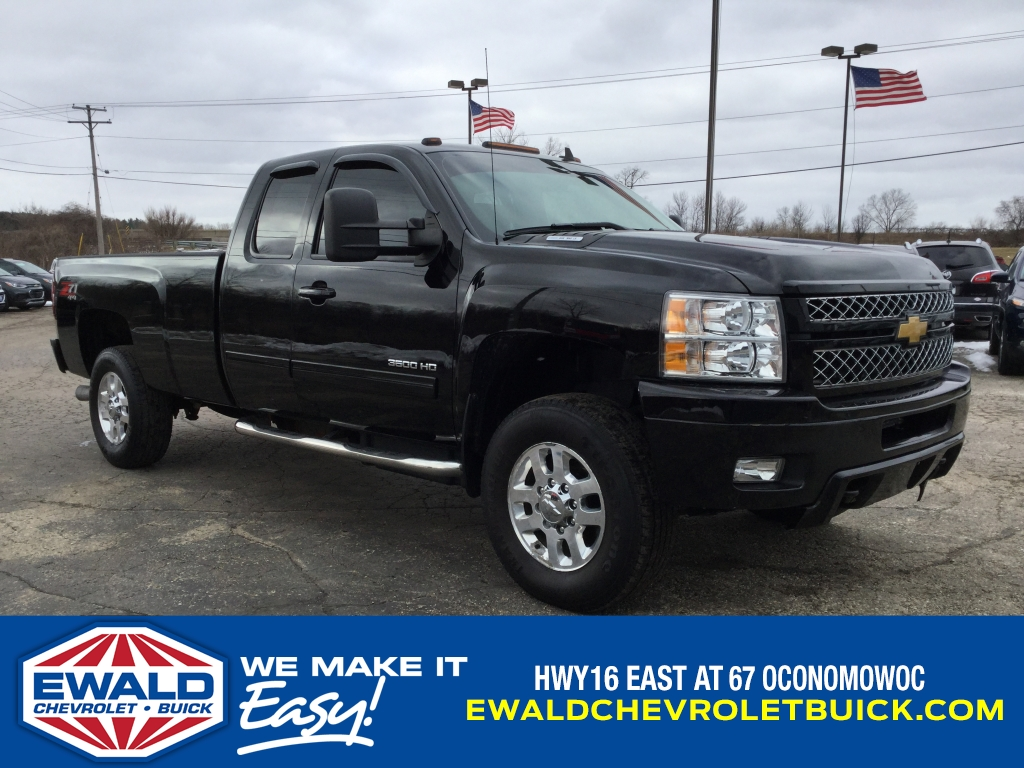 2012 Silverado 3500 Extended Cab 4x4, Pickup #18C605A - photo 1
