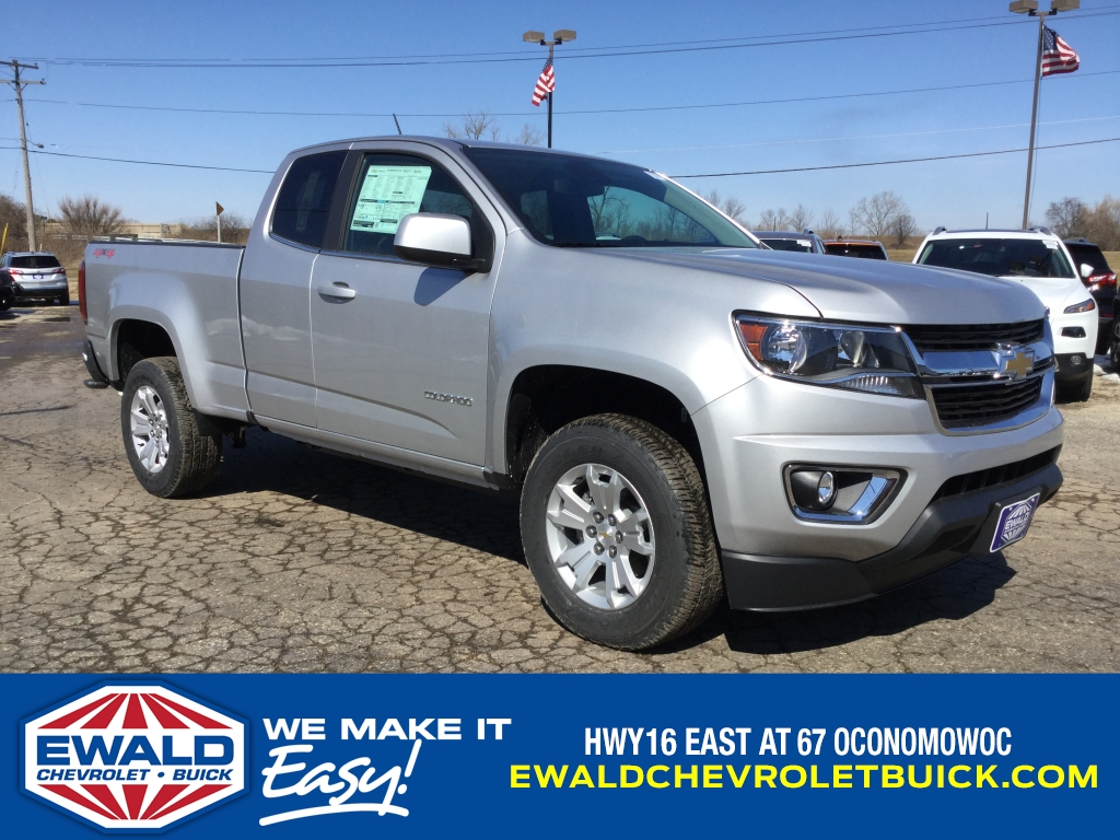 2018 Colorado Extended Cab 4x4, Pickup #18C764 - photo 1