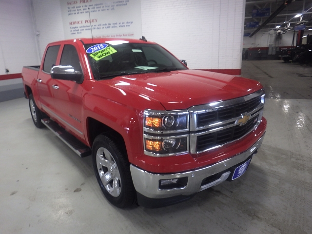 2015 Silverado 1500 Crew Cab 4x4, Pickup #GP3862 - photo 11