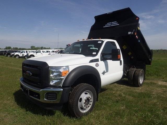 2016 F-450 Regular Cab DRW 4x4, Monroe Dump Body #HR15851 - photo 11