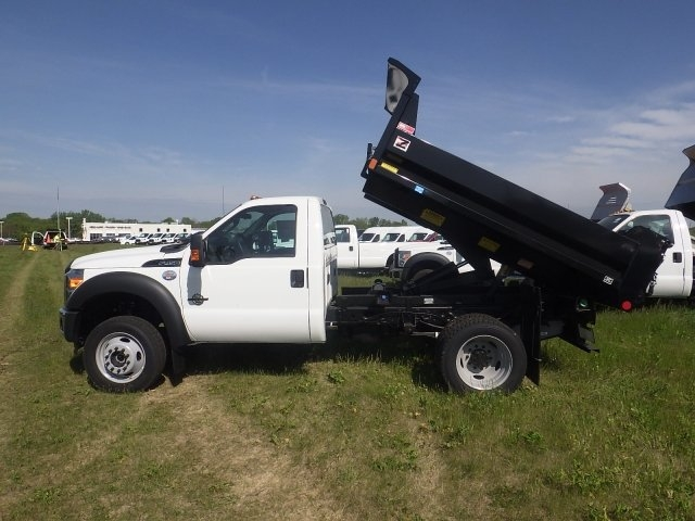 2016 F-450 Regular Cab DRW 4x4, Monroe Dump Body #HR15853 - photo 9